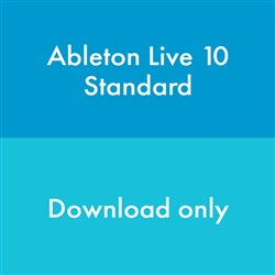 Ableton Live 10 Standard Music Production Software (eLicense Download Code Only)