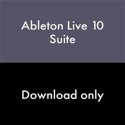 Ableton Live 10 Suite Music Production Software (eLicense Download Code Only)