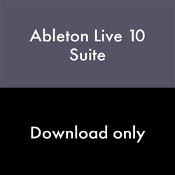 Ableton Live 10 Suite Upgrade from Live Intro (eLicense Download Code Only)