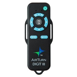 AirTurn DIGIT III Bluetooth Wireless Remote for Computers & Portable Devices