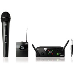 AKG WMS 40 Mini2 Dual Wireless H/held & B/pack Band US45A/C