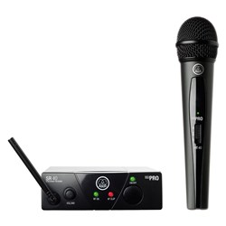 AKG WMS40 Handheld Wireless Mic System Band US45C (662.300MHz)