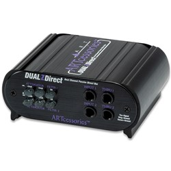 ART Pro Audio DualZDirect Dual Professional Passive Direct Box