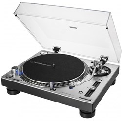Audio Technica LP140X Professional DJ Turntable w/ XP3 Cartridge (Silver)