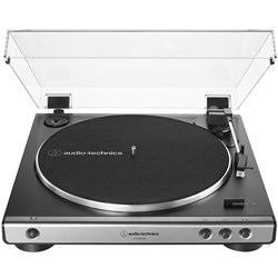 Audio Technica LP60X Standard Belt Drive Turntable w/ Built In Preamp (Gun Metal)