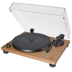 Audio Technica LPW40WN Fully Manual Belt-Drive Turntable w/ VM95E Cartridge (Walnut)