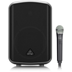 Behringer Europort MPA200BT 200W Speaker w/ Wireless Mic, Battery & Bluetooth