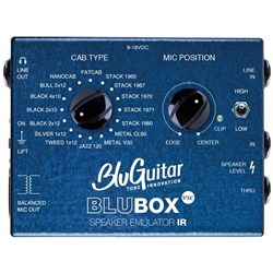BluGuitar BluBox VSC Impulse Response Speaker Emulator DI Box