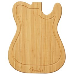 Fender Telecaster Cutting Board (Bamboo)