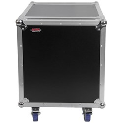 Gator G-TOUR 12U CAST 12U Standard Road Rack Case w Casters